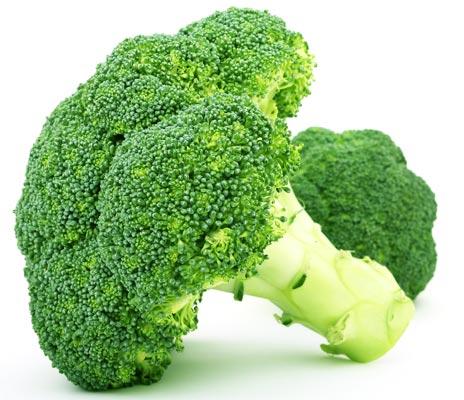 Brócolis e espinafre possuem propriedades contra o estresse