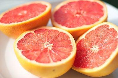 Grapefruit ajuda os pulmões a se manterem saudáveis.
