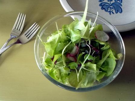 Curas escondidas na salada