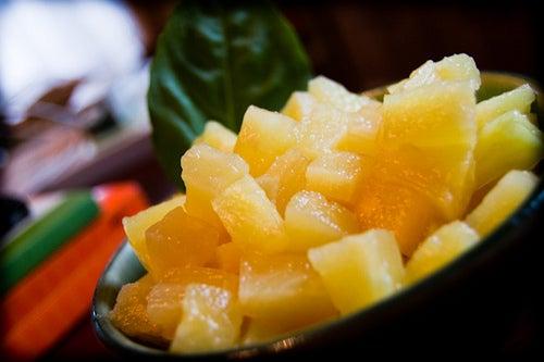xarope de abacaxi