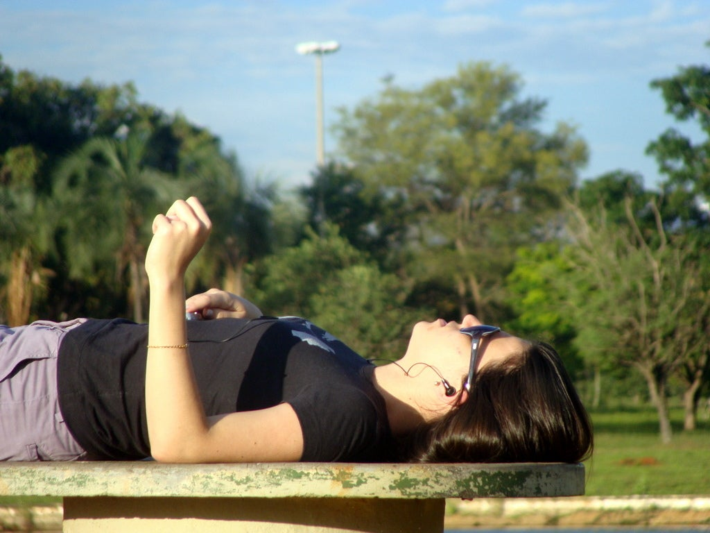 Em meio ao stress, relaxe