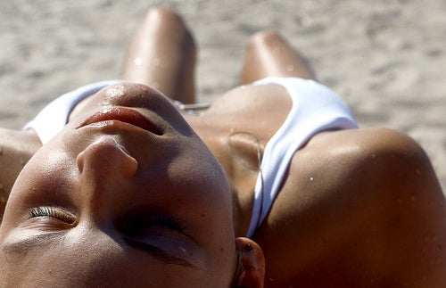 banho de sol. Aeroflot []v[]