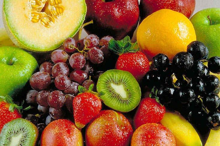 Frutas: uma ótima pedida