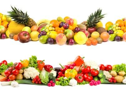 Frutas e vegetais que contêm açúcar