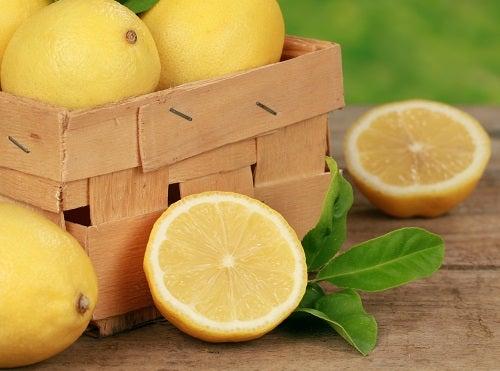 Limão com casca e tudo