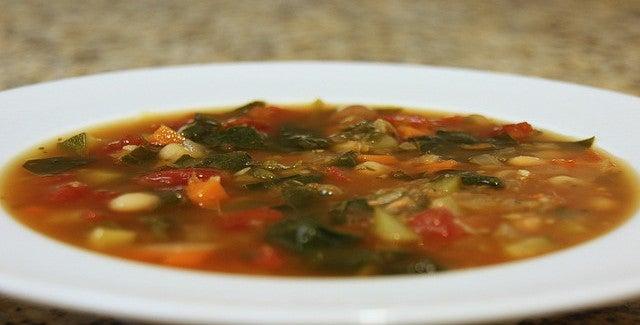 Emagreça com sopa de verduras