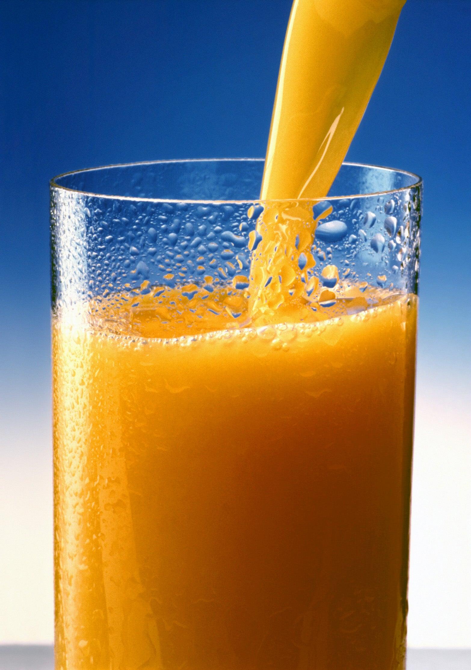 suco de cenoura para fortalecer seus ossos