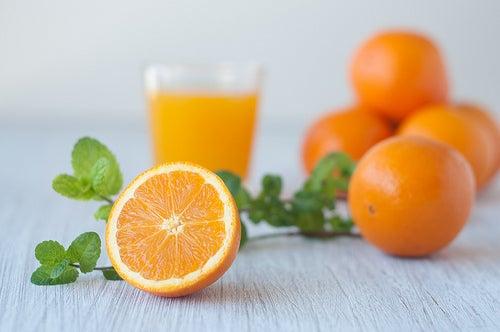 Laranja excelente fruta para os pulmões.