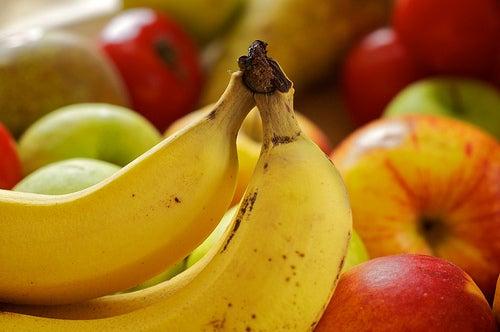 banana para aliviar as câimbras musculares