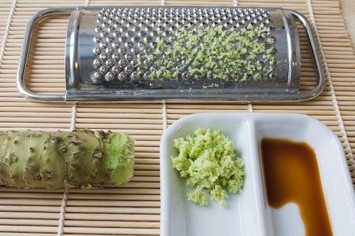 Os benefícios do wasabi