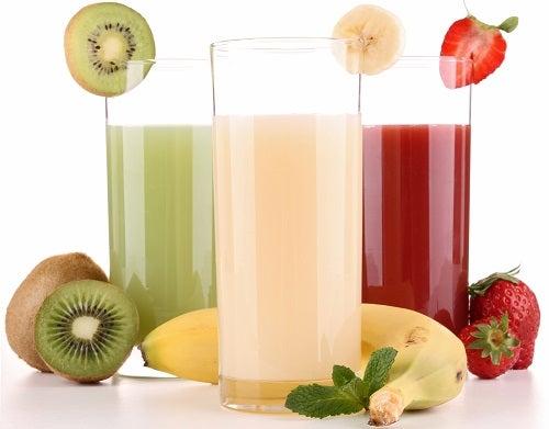 Sucos naturais, uma opção saudável. Qual você prefere?