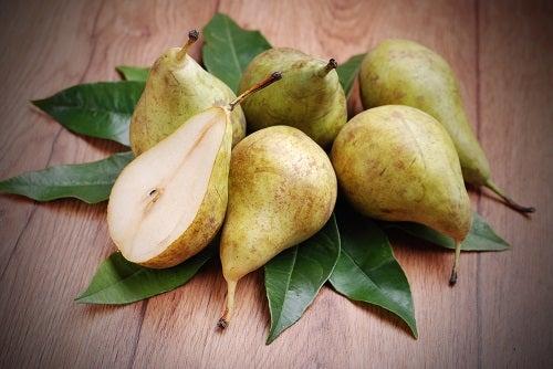 Propriedades saudáveis da pera