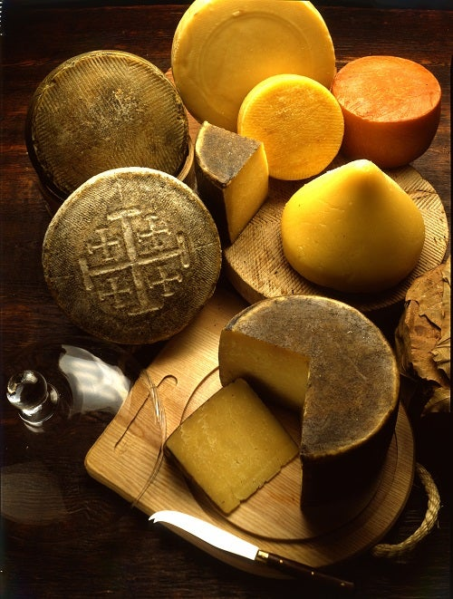 calorias dos queijos