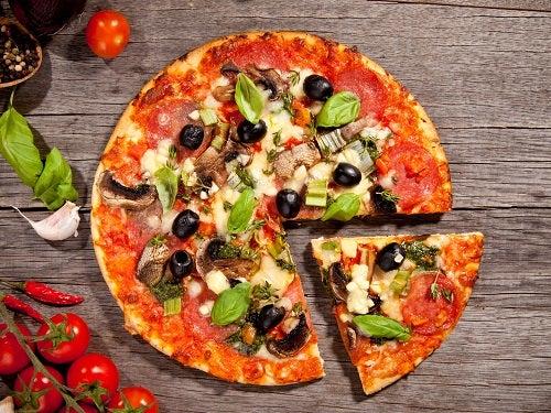 Calorias das massas e pizzas
