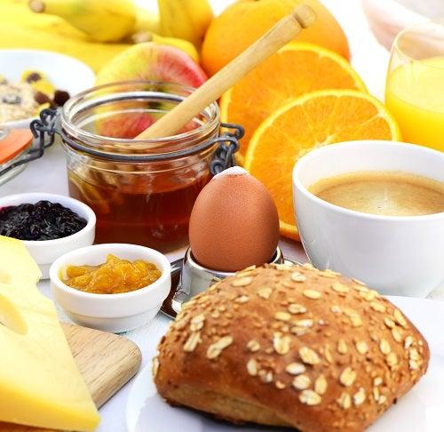 Calorias de 10 alimentos mais consumidos
