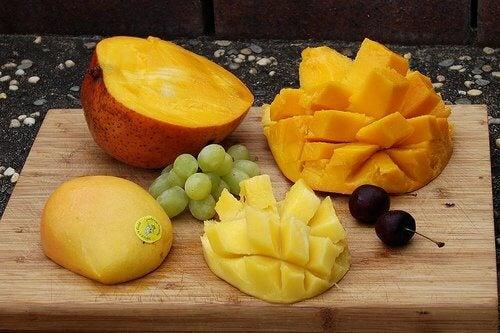 A manga é uma fruta excelente para o preparo de sucos naturais