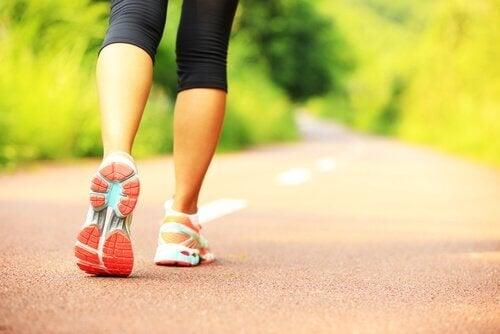 Benefícios de caminhar diariamente