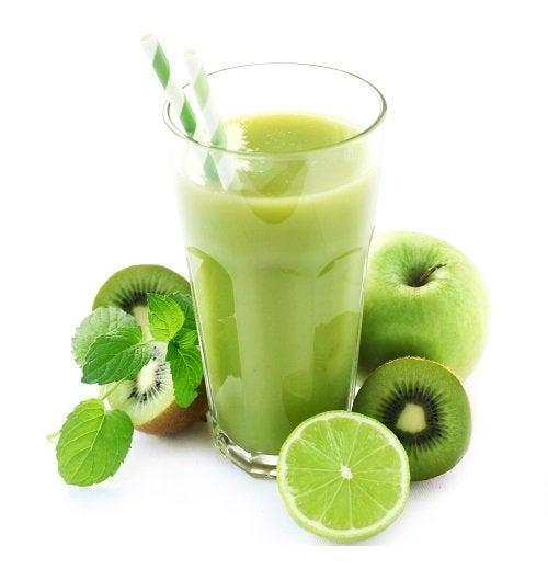 Receitas de sucos verdes