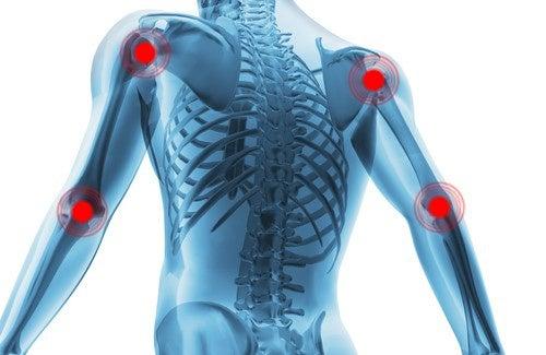 Remédio com gengibre para a dor articular