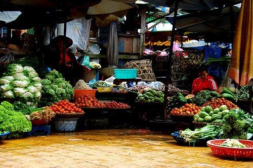 Mercado-vegetais