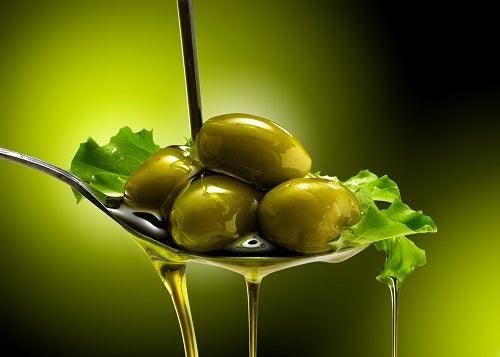 o azeite de oliva