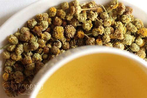 Infusão / chá de camomila (Foto: Arrocería Sobremesa)