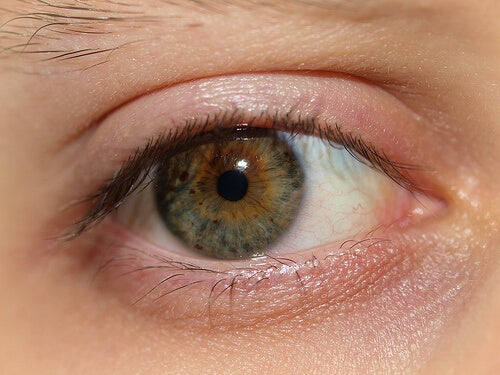 Um dos tratamentos naturais com leite pode ajudar a tratar os olhos inchados