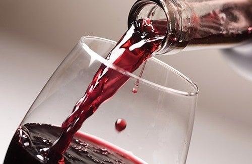taça de vinho para dieta