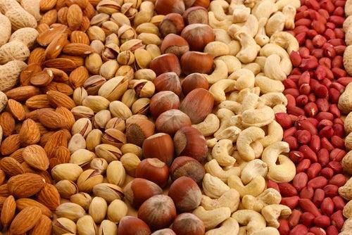 Frutos Secos ajuda a queimar gorduras
