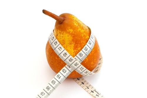 Pera na dieta para perder peso