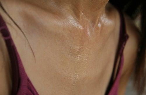 Como controlar a transpiração excessiva?