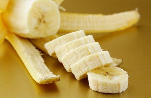 mascara natural para pele de banana