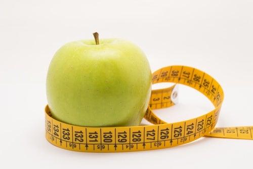 Maça para perder peso