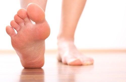 Como saber seu estado de saúde através dos pés?