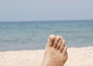 estado de saúde através dos pés