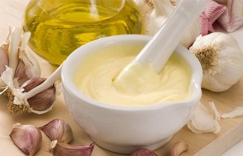 Alternativas de maionese com baixo teor de gorduras