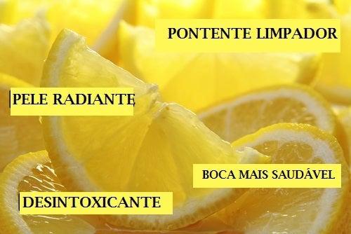 Suco de limão é um excelente clareador para manchas na pele