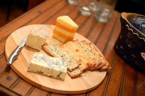 Tipos de queijo com iodo