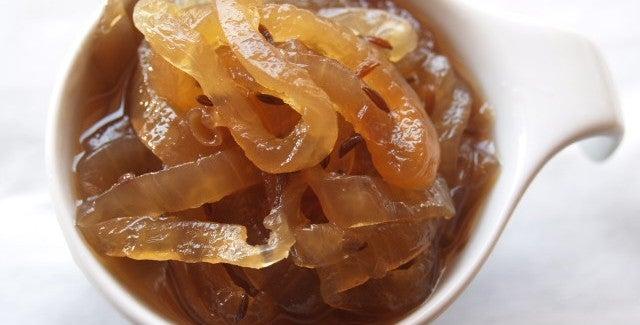 Receita de geleia de cebola