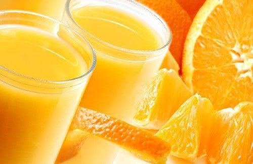Suco de laranja para fortalecer a memória
