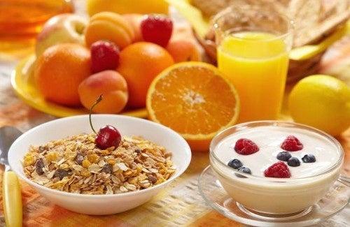7 regras para um café da manhã saudável