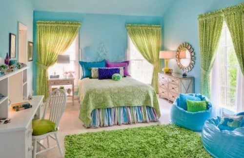 Será que as cores da casa alteram o nosso humor?