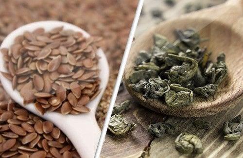 Sementes de linho e chá verde, grandes aliadas contra o câncer