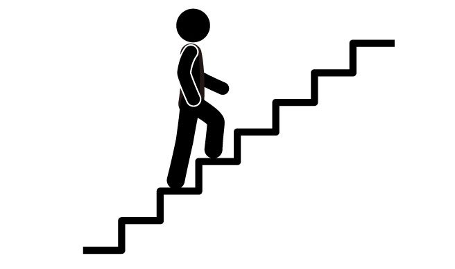 exercícios de subir escadas