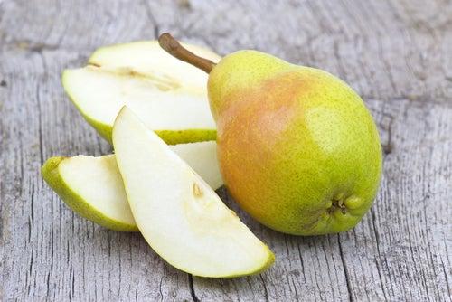Pera para combater a gastrite