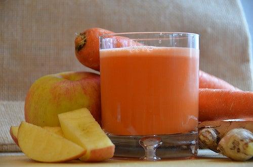 bebidas com vegetais para perder peso