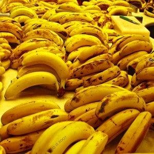 Uso da banana madura nos calcanhares rachados