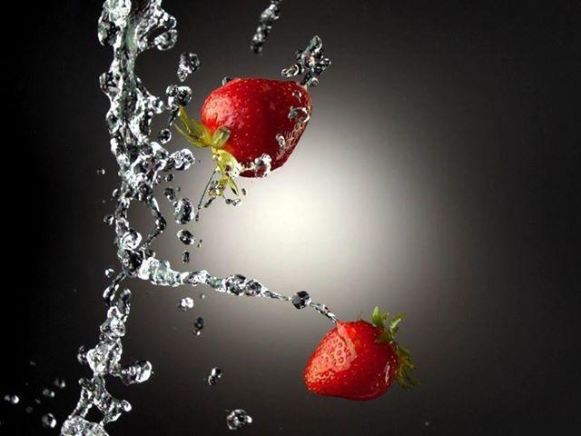 Benefícios da água de morango