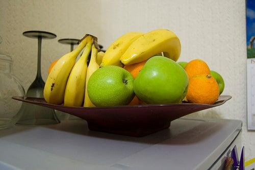 frutas de baixa caloria