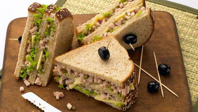 receitas de sanduíches como café da manhã